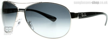 Ray-Ban 3386 Silver 003/8G Medium (63mm)