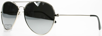 SXUC Mirrored Aviator Silver 4167