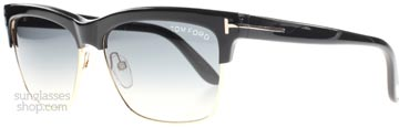 Tom Ford Montgomery Svart 01b