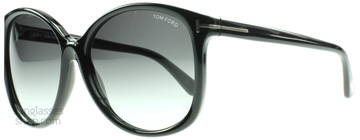 Tom Ford Alicia Svart 01F