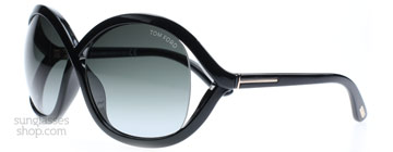 Tom Ford Sandra Svart 01B