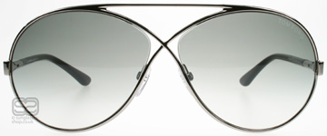 Tom Ford Georgette Silver 12B