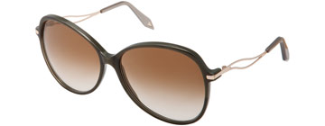 Victoria Beckham Acetate Butterfly Pearl Army VB0221