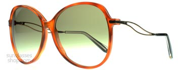 Victoria Beckham Acetate Butterfly Honung VB0143