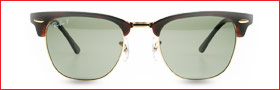 Ray-Ban Clubmasters Ray-Ban Designer Sunglasses from Sunglasses Shop