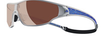 Adidas Tycane Pro L Silver and Blue 6053 Polarised