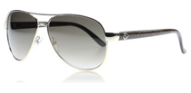 Gucci 4239S Black and Silver DYZ
