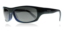 Maui Jim Surf Rider Surf Rider Black and Blue 261-02G Polarised