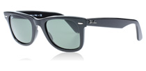 2140 Wayfarer Black 901 50 mm (Medium)