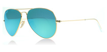 Ray-Ban 3025 Aviator Matte Gold 112/19