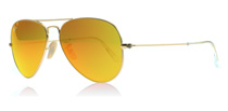 Ray-Ban 3025 Aviator Matte Gold 112/69