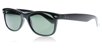 2132 Wayfarer Black 901 55mm (901L)