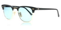 3016 Clubmaster Matte Black 901S3R Polarised