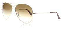 Ray-Ban 3025 Aviator 3025 Aviator Arista 001/51 Large 62mm