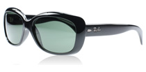 Ray-Ban 4101 Jackie Ohh Shiny Black 601