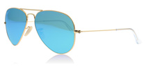 Ray-Ban 3025 Aviator 3025 Aviator Gold 112/4L Polarised 58mm