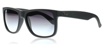 Ray-Ban 4165 Justin Black Rubber 601/8G 55mm