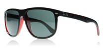 Ray-Ban 4147 4147 Matte Black Red 617187
