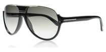 Tom Ford Dimitry Black and Gold 01P