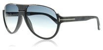 Tom Ford Dimitry Black and Silver 02W