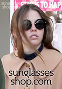 Mia Goth Sunglasses