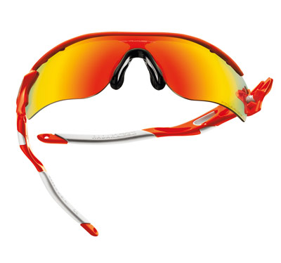 Front view Oakley RadarLock Sunglasses at Sunglasses Shop