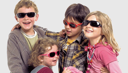 Cebe kids Sunglasses at Sunglasses Shop