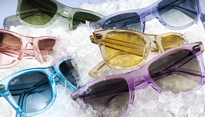 ray ban ice pop  ray ban wayfarer ice pops collection at sunglasses shop