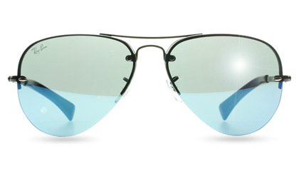 Ray-Ban 3449 Aviator Sunglasses at Sunglasses Shop UK