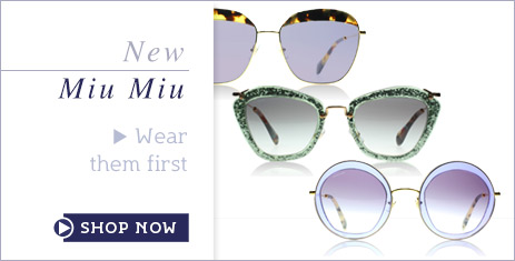 Miu Miu Sunglasses January 2015 Sunglasses Collection