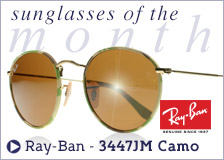 Ray-Ban 3447 JM Camo Sunglasses - Sunglasses of the Month May 2015