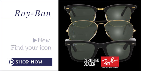 Ray-Ban Sunglasses at Sunglasses Shop Certified Dealer