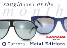 Carrera Metal Edition Sunglasses Collection - Sunglasses of the Month September