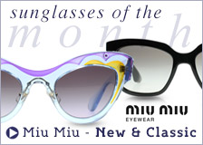 Miu Miu Sunglasses Collection - Sunglasses of the Month November 2014
