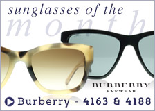 Burberry Sunglasses - Sunglasses of the Month November 2014