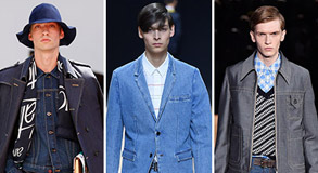 Mens Denim on Denim Trend Features