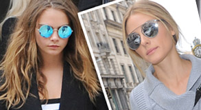Womens Sunglasses Trends - Fashion Mirror Sunglasses