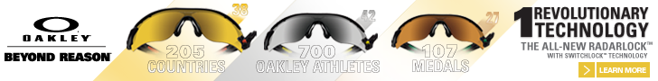 Oakley Olympic banner